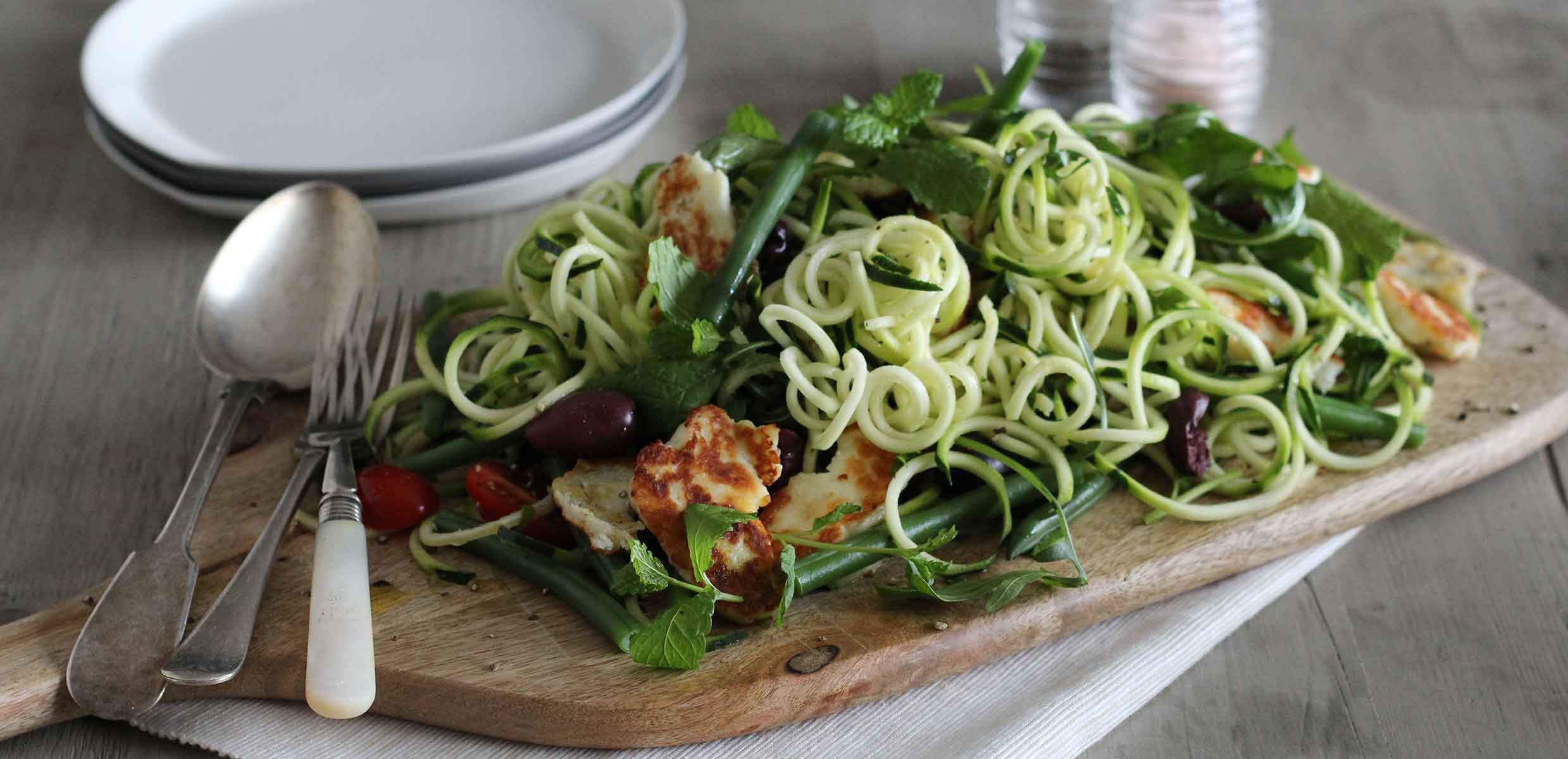 Photography of courgette Spaghetti using courgettes grown on the Barfoots España farm